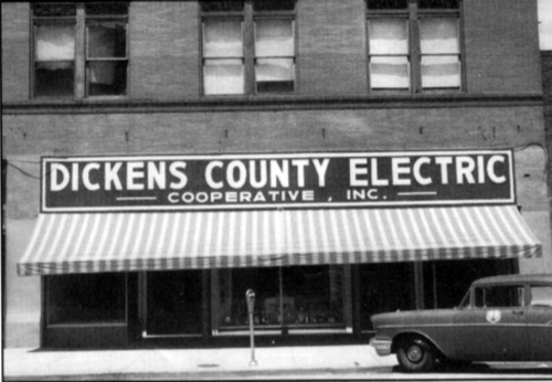 Dickens Electric Cooperative Office